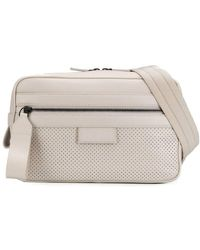 Bottega Veneta Perforated Detail Belt Bag - White