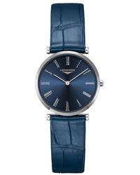Longines La Grande Classique Quartz Blue Dial Ladies Watch