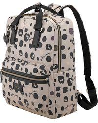 Radley Bubble Dog Zip Top Backpack - Grey