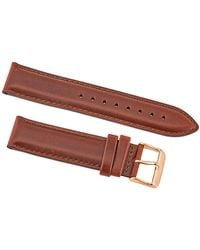 Daniel Wellington Classic St Mawes Leather Watch Band - Brown