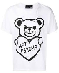 DOMREBEL - White Graphic T-shirt ''not '' - Lyst