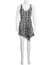 Atlein Ladies Black Asymmetric Dress