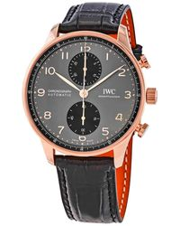 Iwc Portugieser Chronograph Automatic Gray Dial Watch