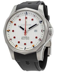 Corum Admiral's Cup Racer Automatic White Dial Watch
