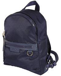 Longchamp Navy Le Pliage Neo Nylon Backpack - Blue