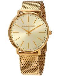 Michael Kors Pyper Bracelet Watch - Metallic