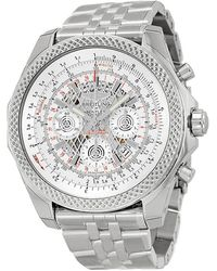 Breitling Pre-owned Bentley B06 Chronograph Automatic Chronometer Silver Dial Mens Watch -g768-990a - Metallic