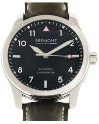 Bremont Automatic Black Dial Mens Watch -pb - Metallic