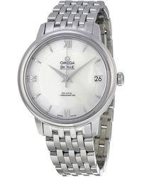 Omega Deville Prestige Automatic Ladies Watch 42410332005001 - Metallic