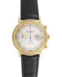 Audemars Piguet Jules Audemars White Dial 18kt Yellow Gold Mens Watch 25859baood001cr02 - Metallic