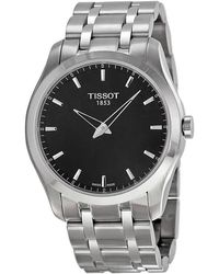 Tissot Couturier Black Dial Mens Watch