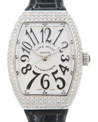 Franck Muller Vanguard Automatic Diamond White Dial Ladies Watch V32scatfod(acnr)-white