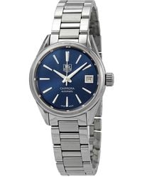 Tag Heuer Carrera Caliber 9 Automatic Blue Dial Ladies Watch