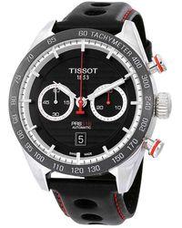 Tissot Prs 516 Chronograph Automatic Mens Watch - Metallic