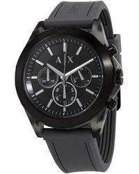 Armani Exchange Chronograph Quartz Black Dial Mens Watch