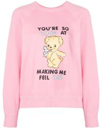 Marc Jacobs Pink X Magda Archer The Collaboration Sweatshirt