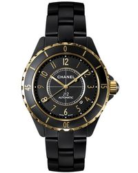 Chanel J12 Automatic Black Dial Black High Tech Ceramic Unisex Watch