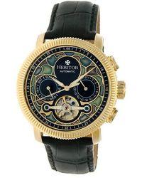 Heritor Men's Aura Watch - Metallic