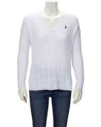 Ralph Lauren Ladies Sweater -wh, Brand - White
