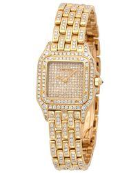 Cartier Pre-owned Panthere Quartz Diamond Ladies Watch  2 - Metallic