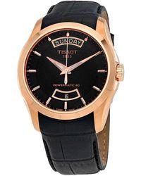 Tissot Couturier Automatic Black Dial Watch T0354073605101 - Multicolor