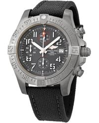 Breitling - Avenger Bandit Chronograph Automatic Black Dial Mens Watch - Lyst
