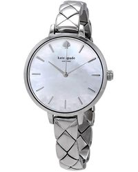 Kate Spade Women's Metro Bracelet Watch, 34mm - Metallic