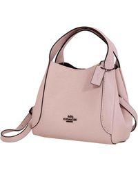 COACH Ladies Hadley Hobo 21 Bag-pink