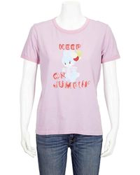 Marc Jacobs Magda Archer The Collaboration T-shirt, Brand - Pink