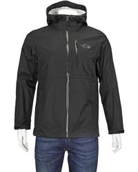 The North Face Mens Lightweight Venture Jacket In Black