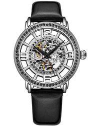 Stuhrling Original Legacy Automatic Silver Dial Ladies Watch - Metallic