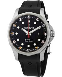 Corum Admiral's Cup Racer Automatic Black Dial Titanium 47 Mm Watch