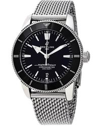 Breitling - Superocean Heritage Ii Automatic Chronometer 44 Mm Black Dial Mens Watch - Lyst