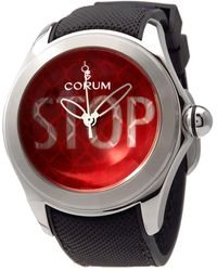 Corum Bubble 42 Automatic Red Dial Mens Watch  St01