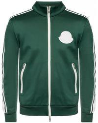 Moncler Logo Track Jacket - Green