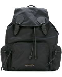 Burberry Mens The Large Rucksack Black
