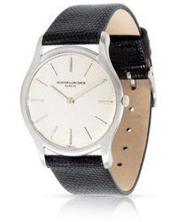 Vacheron Constantin Pre-owned  Hand Wind Silver Dial Unisex Watch - Metallic