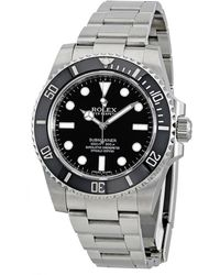 Rolex Pre-owned Submariner Automatic Chronometer Black Dial Mens Watch  Bkso - Metallic
