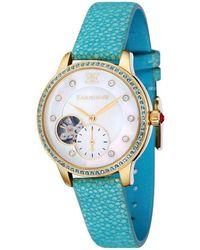 Thomas Earnshaw Lady Australis Automatic Ladi Watch -8029-07 - Blue