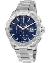 Tag Heuer Aquaracer Automatic Chronograph Mens Watch - Metallic