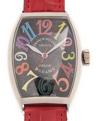 Franck Muller Cintree Curvex Colour Dream Automatic Black Dial Unisex Watch  Sc Col Drm (og) - Metallic
