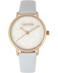 Sophie & Freda Breckenridge Quartz White Dial Ladies Watch - Metallic