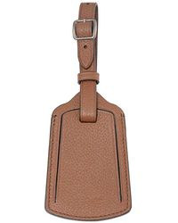 COACH Saddle Luggage Tag - Brown