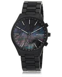 Skagen Holst Black Titanium-link Hybrid Smartwatch