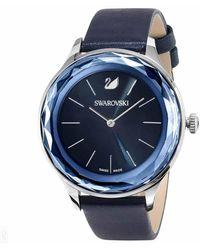 Swarovski Octea Nova Quartz Blue Dial Ladies Watch