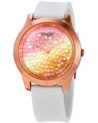 Guess Crush Quartz Ladies Watch - Pink
