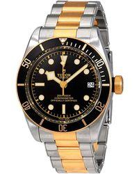 Tudor Heritage Automatic 41 Mm Black Dial Mens Watch -0008 - Metallic