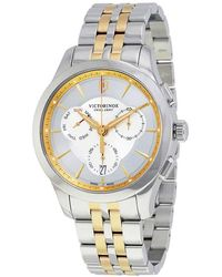 Victorinox Swiss Army Alliance Chronograph Mens Watch - Metallic