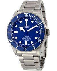 Tudor Pelagos Chronometer Automatic Blue Dial Mens Watch -0001