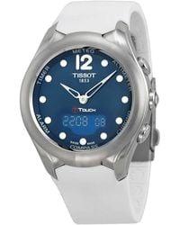 Tissot T-touch Solar Blue Dial Ladies Watch T0752201704700
